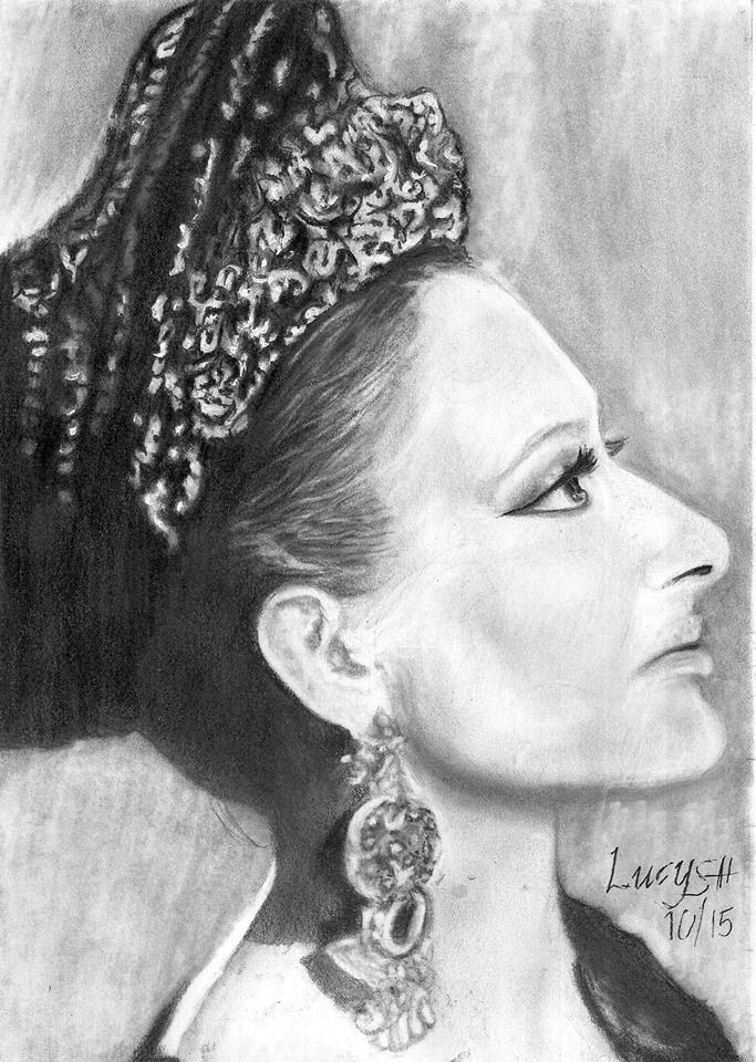 Maria Callas by lucysh